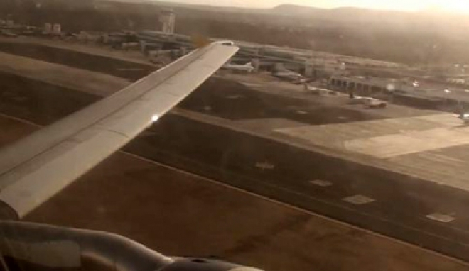 Birmingham airport: terror plane skids off runway