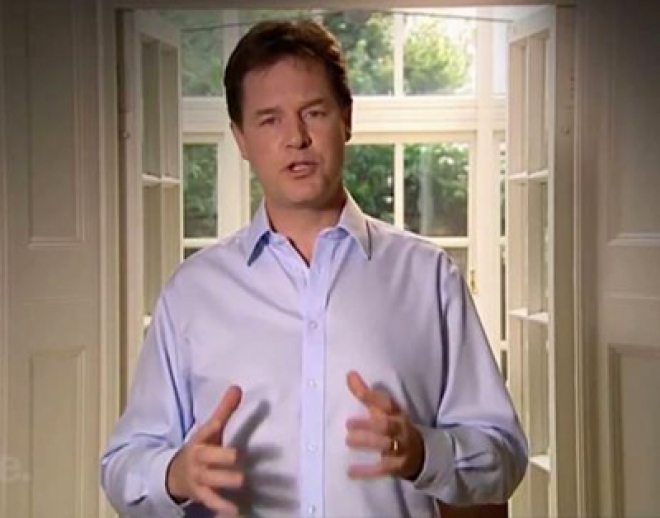Lib Dem Conference: Nick Clegg - 'Stick with us'