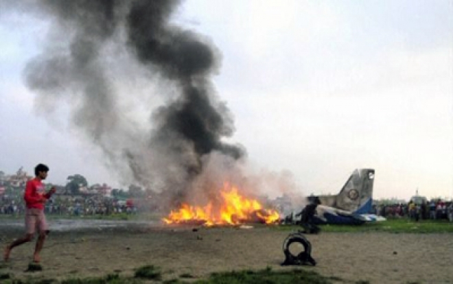 Seven Britons among 19 dead in Nepal air crash