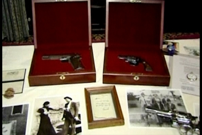 Bonnie and Clyde guns sell for over $500k