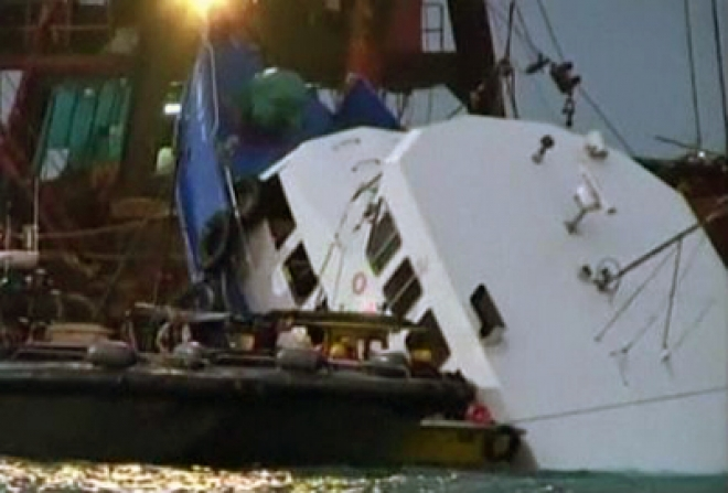 6 Arrested over Hong Kong Ferry Disaster