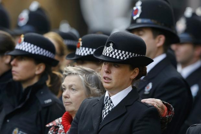 Funeral held for murdered PC Fiona Bone