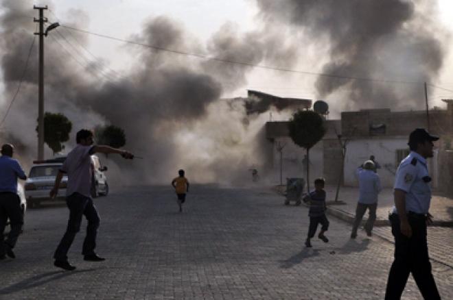 Syrian Shells Kill Five Turkish Nationals