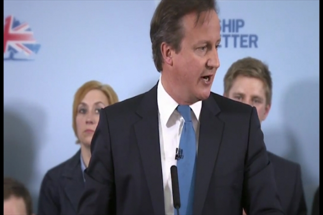Prime Minister David Cameron's closing speech