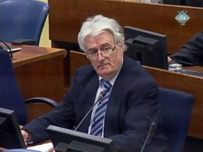 Karadzic opens his defence at The Hague