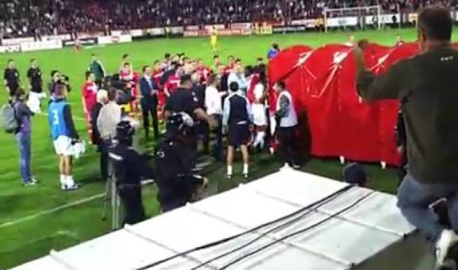 Racist violence & monkey chanting ruins England win