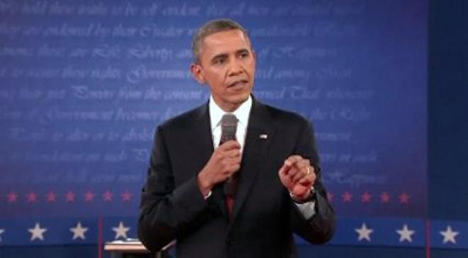 Barack Obama & Mitt Romney in feisty clash