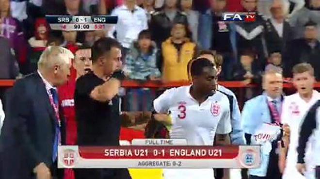 Serbian FA deny allegations of racism at play-off match