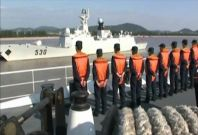 China Sends in Naval Taskforce over 'Island Dispute'