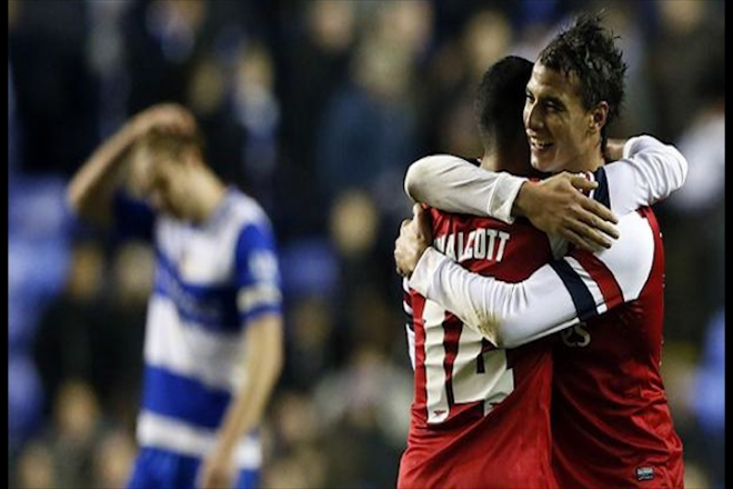 Arsenal beat Reading 7-5 in League Cup thriller