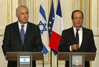 Hollande: Concrete acts 'Iran not pursuing nuclear arms'