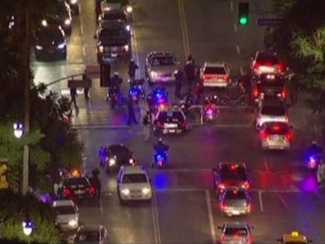 Four injured in LA Halloween party shooting