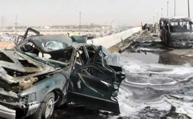 Fuel tanker explosion in Saudi capital kills 22