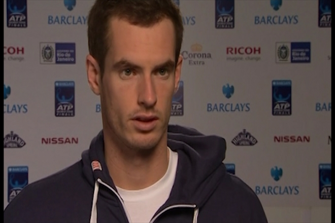 Andy Murray ready for ATP World Tour Finals