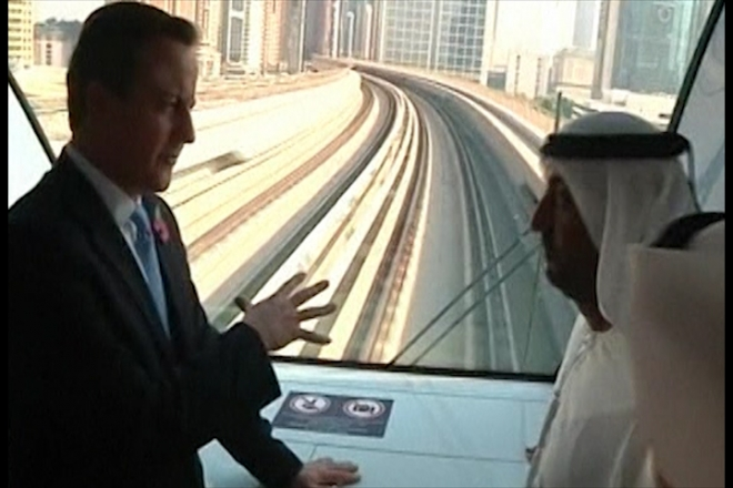 David Cameron to talk human rights on Gulf trip