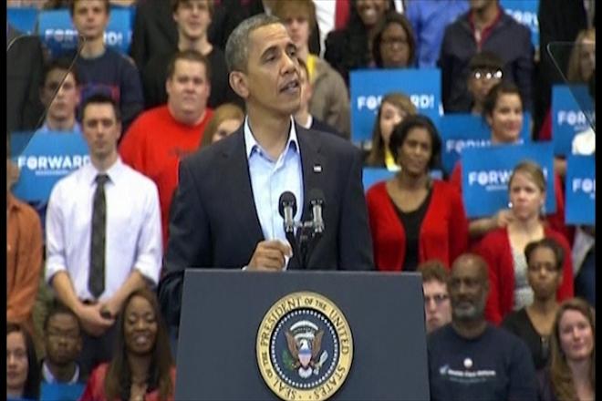 Barack Obama wins 2012 US election