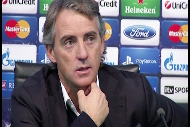 City 'finished' in Europe says Mancini