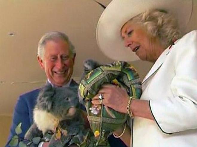 Prince Charles & Camilla's Australian adventure continues