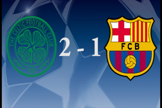 Chelsea grab late winner as Celtic stun Barcelona