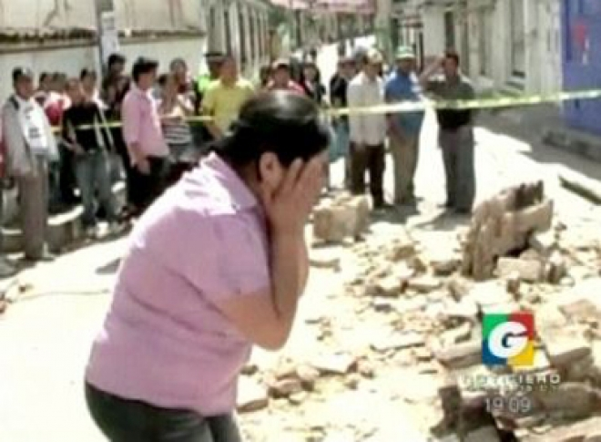 Guatemala earthquake claims at least 48 lives [Warning! Contains graphic material.]