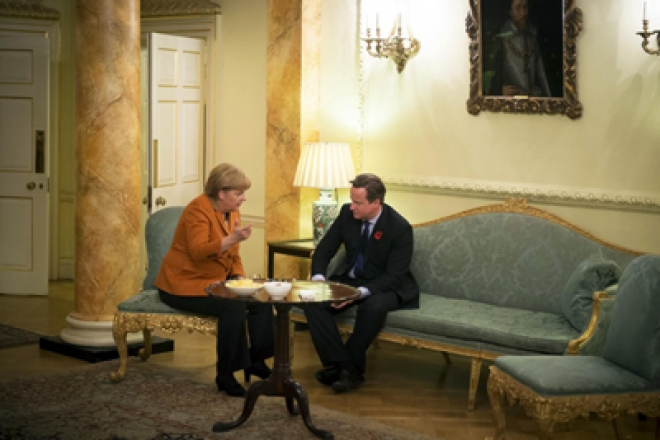 EU budget talks between Cameron & Merkel 'friendly'