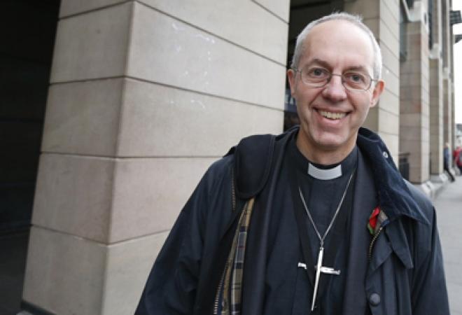 Justin Welby next Archbishop of Canterbury