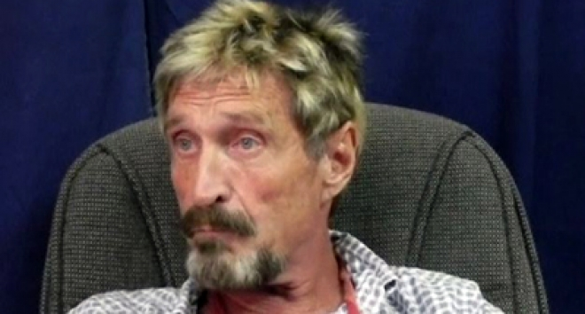 Antivirus software creator, John McAfee, wanted by police