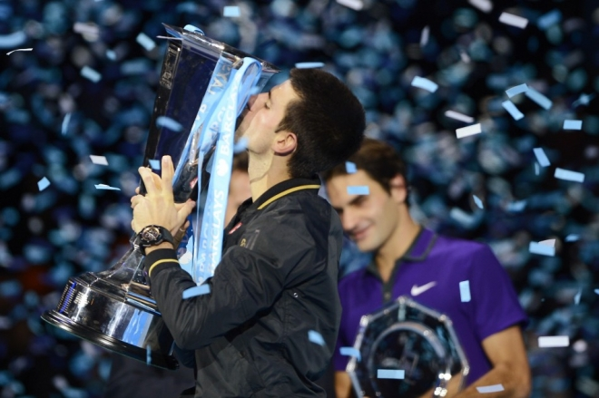 Djokovic defeats Federer to win ATP World Title