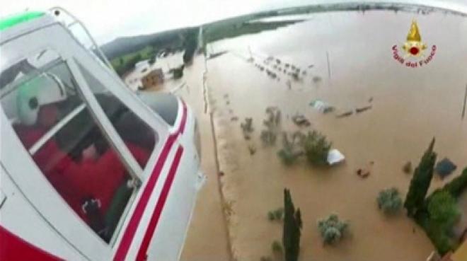 Three die in Italian bridge collapse during flooding