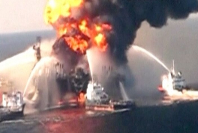 BP to pay record fine for Gulf oil spill