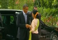 Historic visit to Myanmar by US President