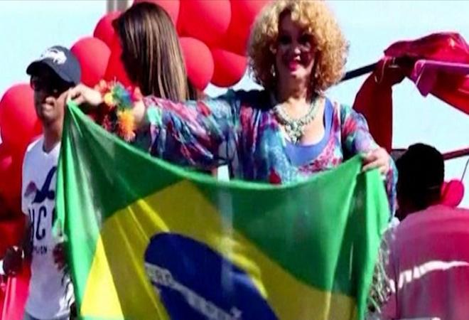 Rio Gay Pride attracts thousands to Copacabana beach