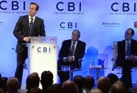 "David Cameron says UK at ""economic equivalent of war"""