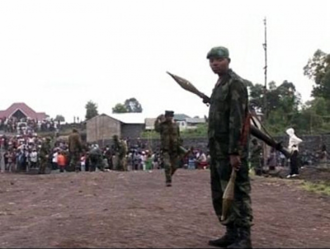 Congo rebels on outskirts of Goma