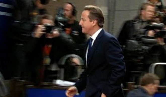 Cameron 'unhappy at EU draft budget'