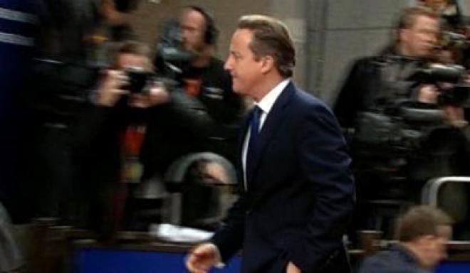 Cameron 'unhappy at EU draft budget'