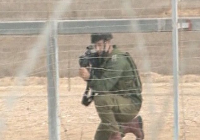 Palestinian man shot dead near Gaza border