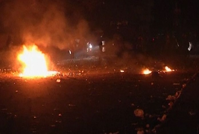 200,000 people protest in Cairo overnight