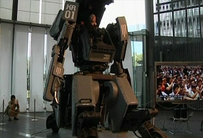 Giant 'Transformer' robot unveiled in Tokyo