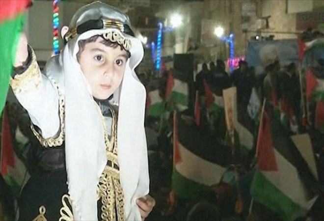 Palestinians celebrate 'non-member state' vote at UN