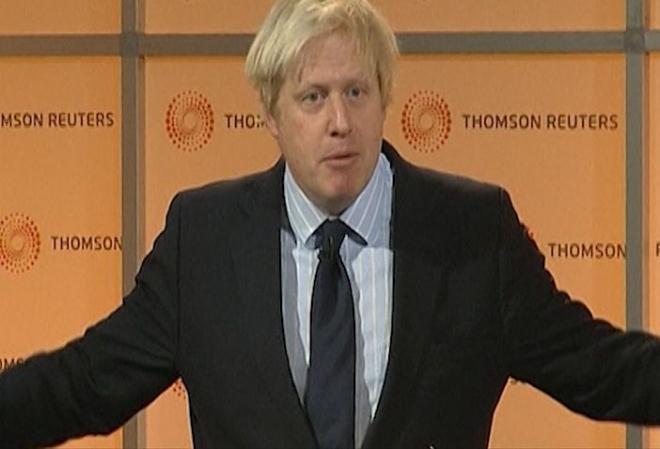London Mayor Boris Johnson calls for EU referendum
