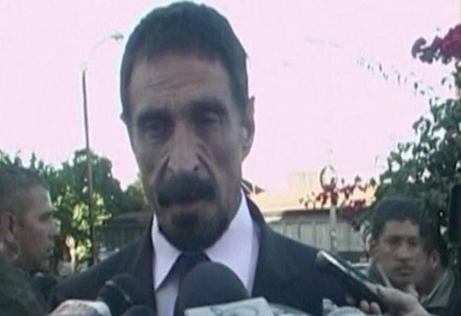 John McAfee seeks political asylum in Guatemala