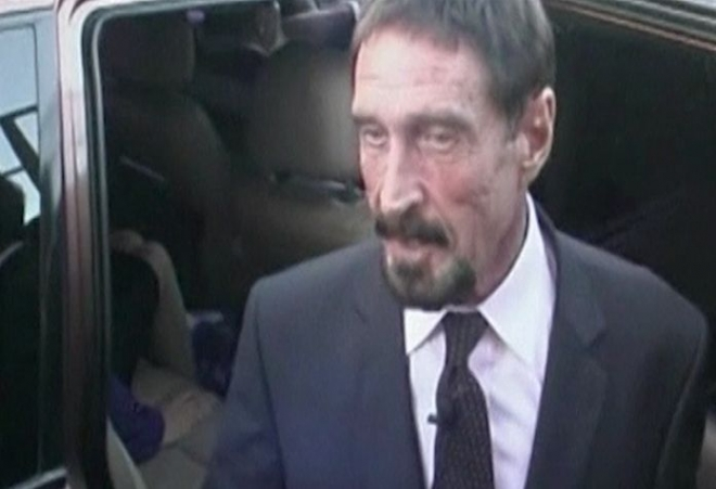 John McAfee seeks return to United States