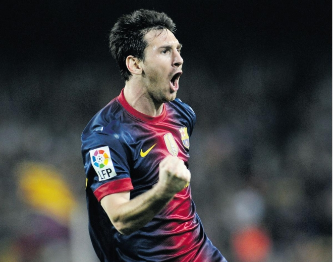 Messi wants to score even more goals