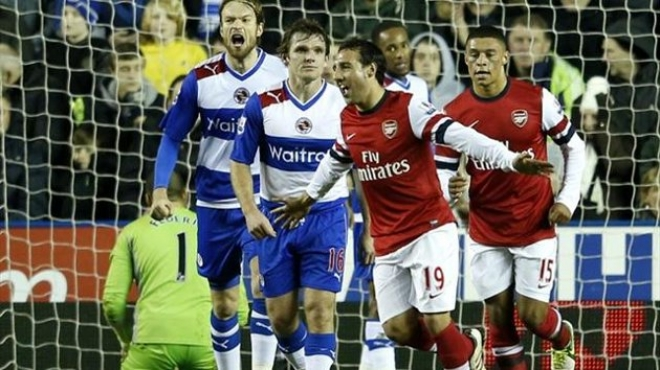 Rampant Arsenal return to form against Reading