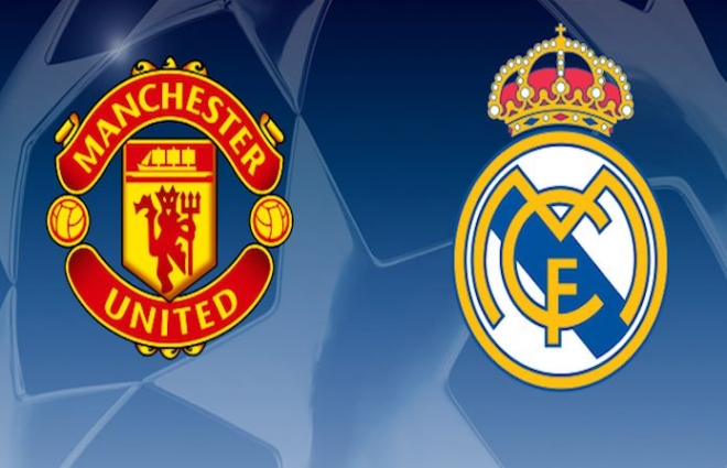 Man United to play Real Madrid in Champions League
