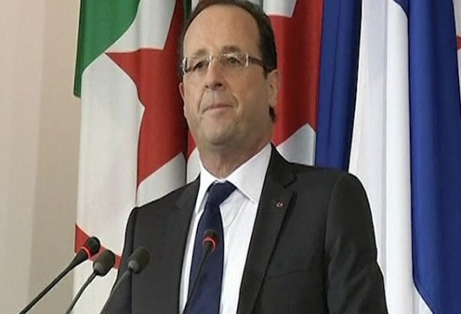 Hollande talks of France's 'brutal' regime in Algeria