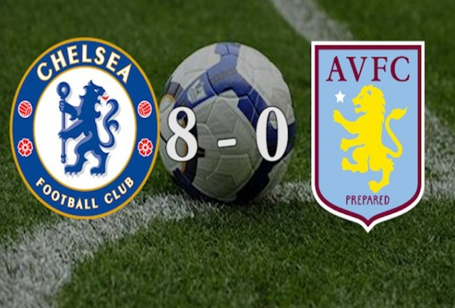 Benitez boosted after Chelsea destroy Aston Villa