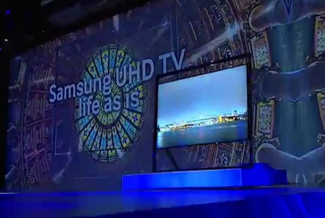 CES 2013: Samsung shows off Ultra HD 4K Televisions