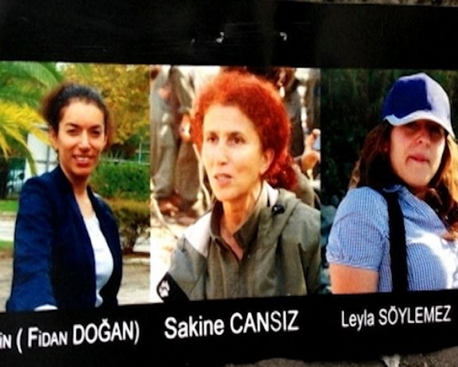 Three Kurdish women activists 'executed' in Paris